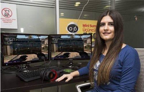 Genç kız e-sporda Türkiye'yi temsil ediyor!