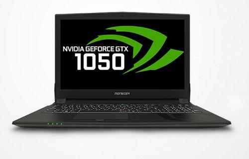 Monster'dan GTX 1050 ve GTX 1050Ti'lı laptoplar!