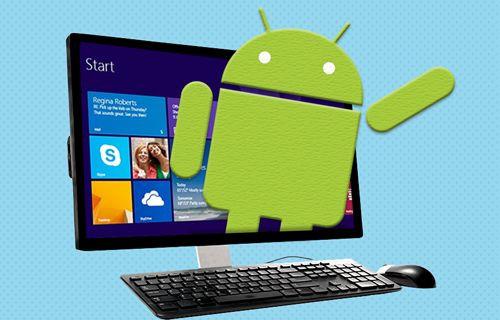 Android 7.0 Nougat'ı bilgisayarda kullanın!