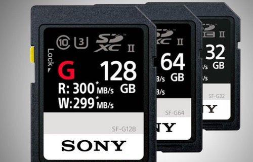 Dünyanın en hızlı SD kartı Sony SF-G duyuruldu!