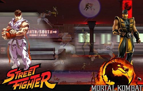 Street Fighter vs Mortal Kombat mı geliyor?
