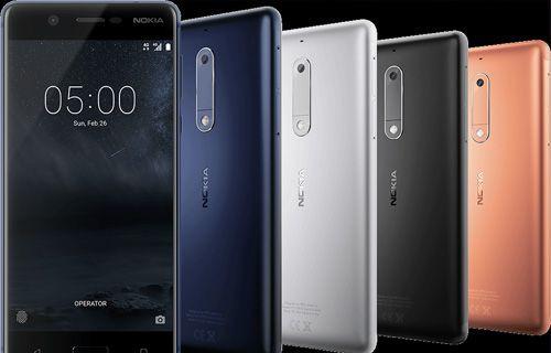 Uygun fiyatlı Nokia 5 ve Nokia 3 tanıtıldı!