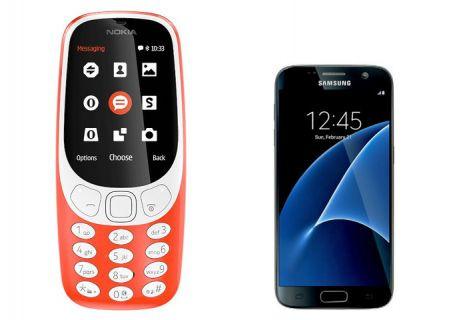 Nokia 3310 kamerası Galaxy S7 kamerasına karşı!