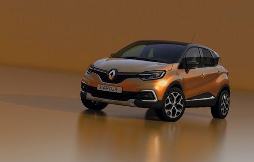 Yeni Renault Captur daha çekici