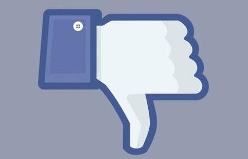Facebook'a beğenmeme tuşu geldi!