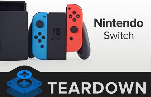 Nintendo Switch parçalara ayrıldı