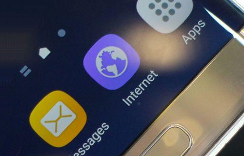 Samsung'un internet tarayıcısı Play Store'da!