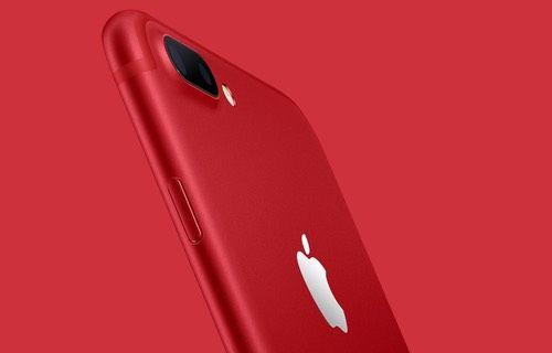 Kırmızı iPhone 7 satışa sunuldu!