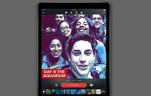 Apple yeni uygulama Clips'i duyurdu!