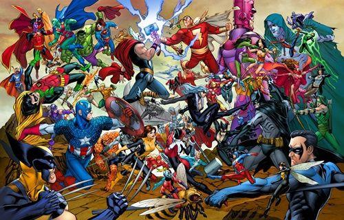 Marvel'ın DC'den çaldığı karakterler!