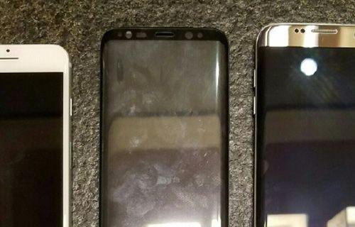 Galaxy S8, iPhone 7 ve Galaxy S7 Edge ile yanyana
