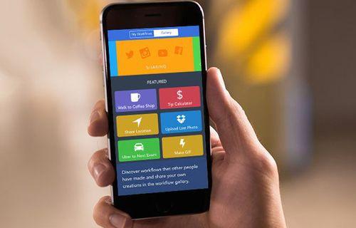 iPhone ve iPad için Workflow nasıl kullanılır?
