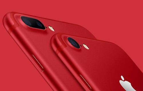 Kırmızı renk seçeneğine sahip akıllı telefonlar