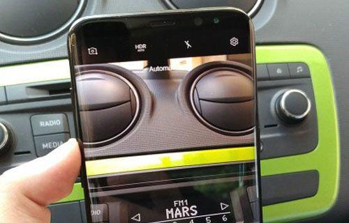 Galaxy S8 Plus'ı çalışırken hiç bu kadar net görmediniz!
