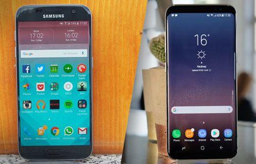 Galaxy S8 ile Galaxy S7 karşılaştırması