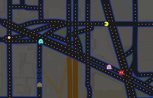Pac-Man, Google Haritalar'da nasıl oynanır?