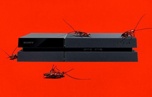 PS4'lerde hamam böceği tehlikesi!