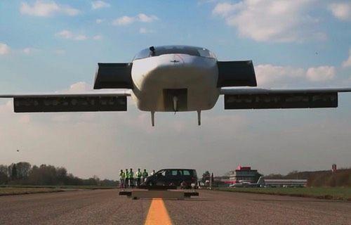 Uçan taksiler geliyor! (Video)