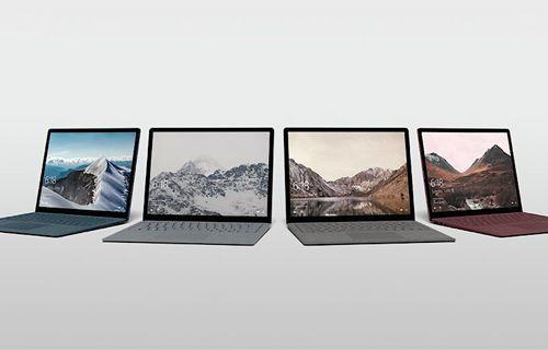 Microsoft'un Surface dizüstü bilgisayarı sızdırıldı