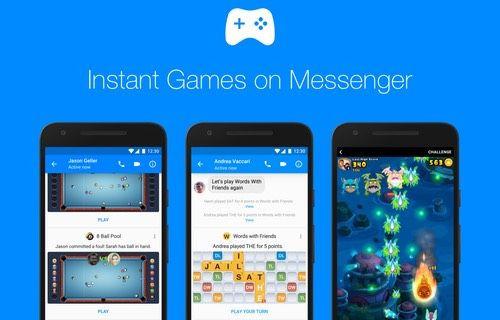 Messenger'a yeni oyunlar ve özellikler geliyor!