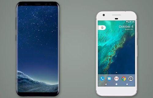 Galaxy S8 ile Google Pixel karşılaştırması