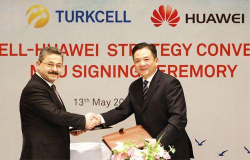 Turkcell ve Huawei işbirliklerini derinleştiriyor