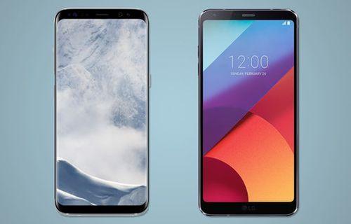 Günün sorusu: Galaxy S8 mi LG G6 mı?