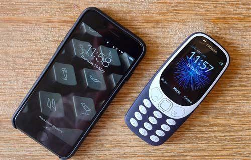 Nokia 3310 kamerası iPhone 7 kamerasına karşı!