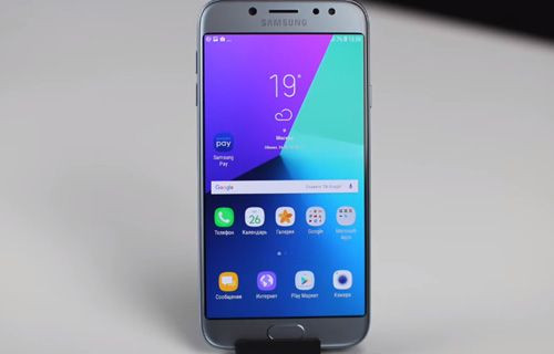 2017 model Galaxy J5 ve Galaxy J7 video inceleme