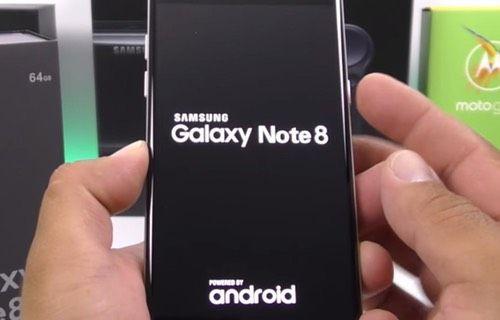 Note 8 klonunun kutu açılış videosu yayınlandı!