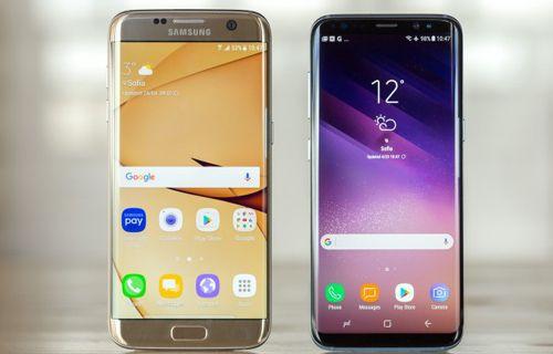 Galaxy S8 ve Galaxy S7 Edge kamera karşılaştırması