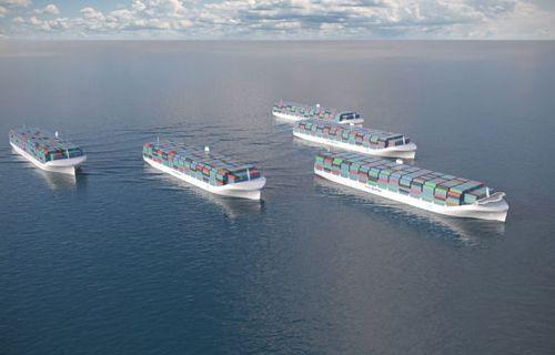 Kendi kendine giden gemiler geliyor!