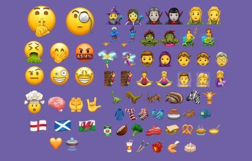 Yepyeni emojiler geliyor!