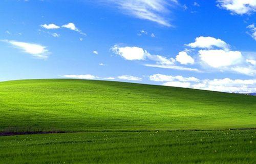 Windows XP'nin unutulmaz manzarasının son hali!