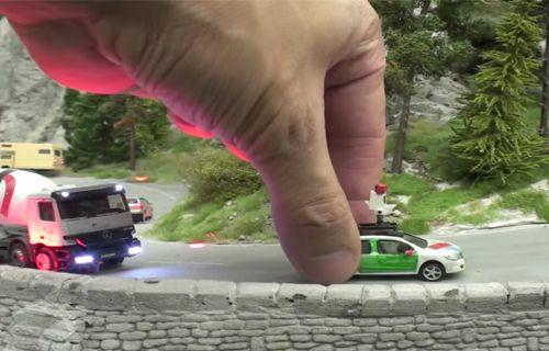 İşte dünyanın en büyük minyatür model kenti!