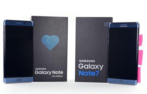 Yenilenmiş Galaxy Note 7 paramparça!