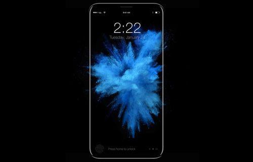 iPhone 8 ekranı açıkken görüntülendi