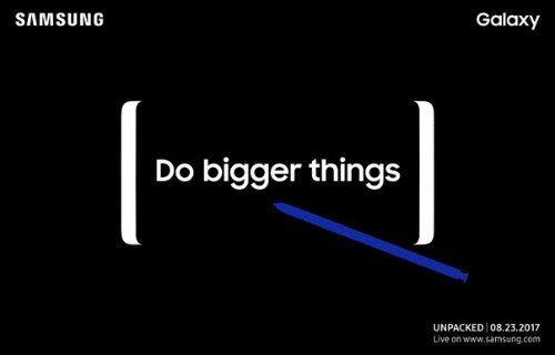 Galaxy Note 8 tanıtım tarihi resmi olarak açıklandı!