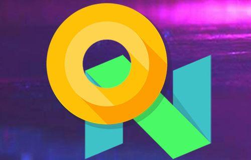 Android O vs Android Nougat görsel karşılaştırma