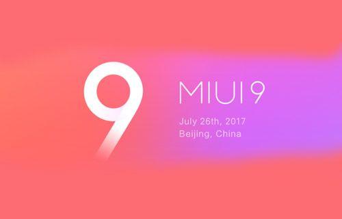 Xiaomi MIUI 9'un ekran görüntüleri