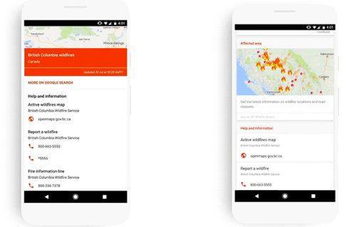 Google SOS Uyarıları, kriz anlarında yardımcı olacak!