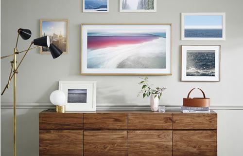 Samsung'un tablo gibi yeni televizyonu The Frame Türkiye'de!