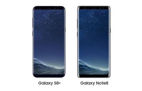 Galaxy Note 8 vs Galaxy S8+ karşılaştırma