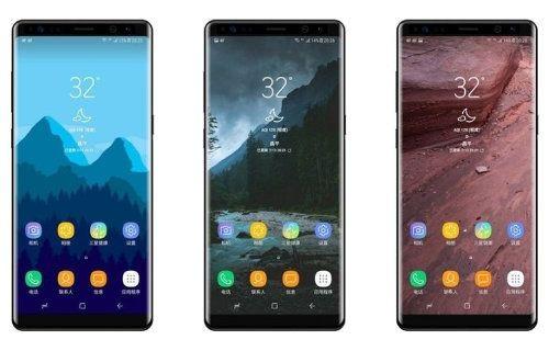 Samsung, sitesinde yanlışlıkla Note 8'i gösterdi!