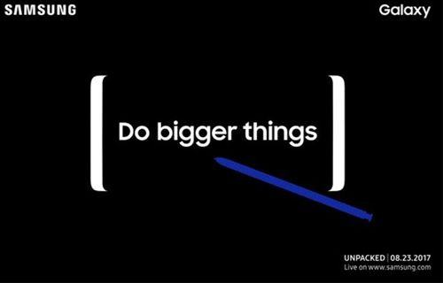 Galaxy Note 8 tanıtımını canlı izleyin!