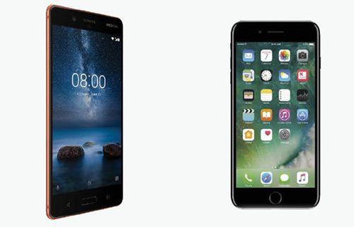 iPhone 7 ve Nokia 8 karşılaştırma