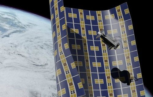 İşte uzay battaniyesi!
