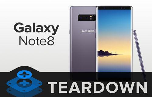 Galaxy Note 8 paramparça!