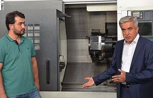 Konya'da robot üretildi!