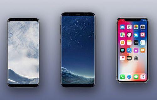 iPhone X ve Galaxy S8 ve Galaxy S8+ karşılaştırma